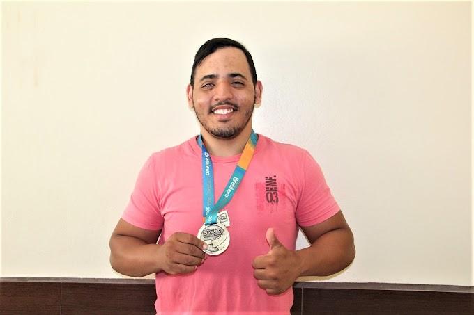 Paratleta apoiado pelo Moda Center é campeão brasileiro do Circuito Brasil Loterias Caixa