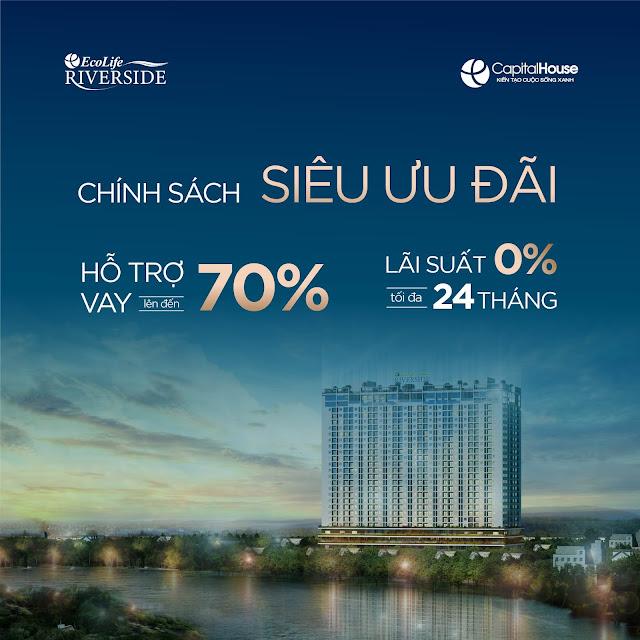 Ngân hàng hỗ trợ mua chung cư trả góp Ecolife Riverside Quy Nhơn