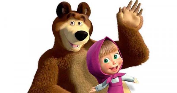 Gambar Masha and The Bear