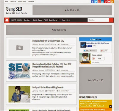 5+ Template Blogger SEO Friendly dan Responsive Abis 20