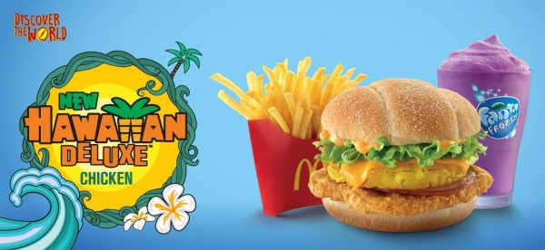 Regular McValue meal – with regular fries and a Frozen Fanta RM 14.99