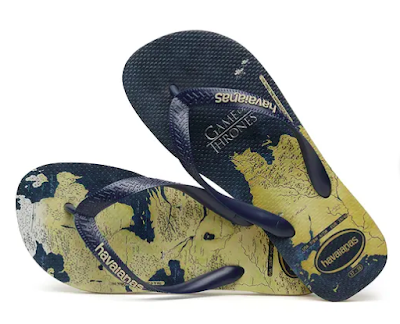 Sandalia Havaianas Games of Thrones