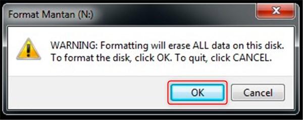 cara memformat flashdisk