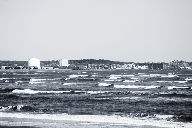 Ocean waves at Revere Beach, Revere, Massachusetts (photo by Gabriel L. Daniels)