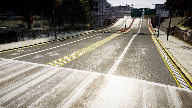 GTA San Andreas Real Roads And GTA IV Textures Mod Pack