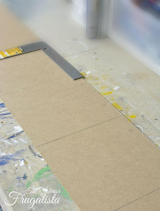 DIY Jumbo Scrabble Tile Fall Banner Mapping Tiles