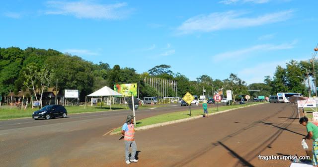 Avenida das Cataratas - Foz do Iguaçu - Brasil