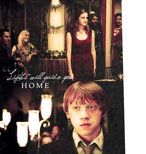 Ronmione Loveteam: Lights Will Guide You Home