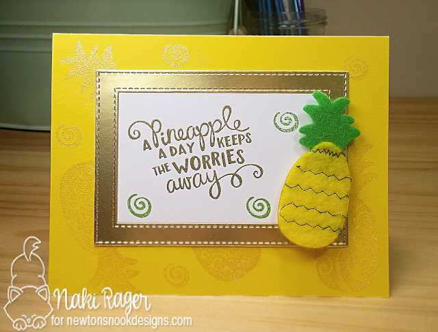 Newton's Nook Designs Pineapple Delight Set - Naki Rager
