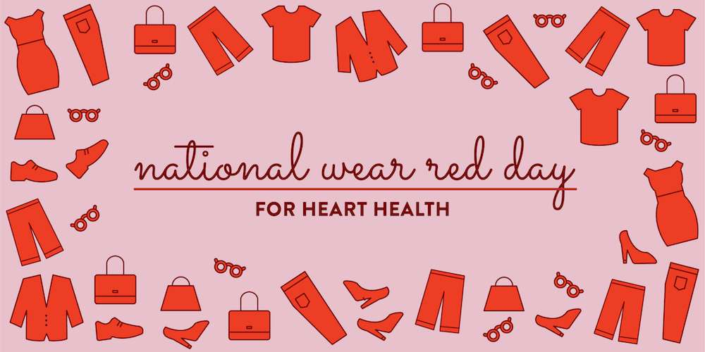 National Wear Red Day Wishes Awesome Picture