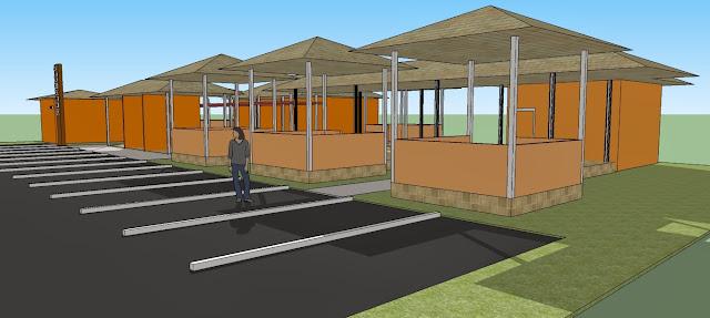 Site Plan Kios