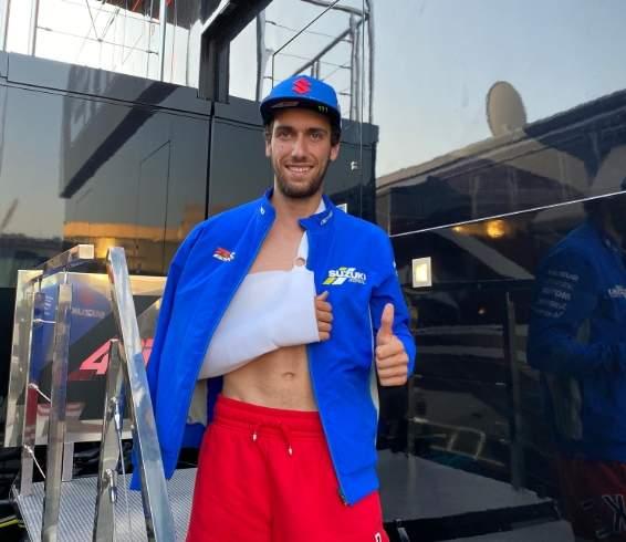 Alex Rins Alami Cidera Dislokasi bahu Kanan Jerez 18 juli 2020