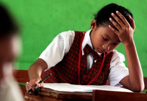 Ujian Sekolah Berstandar Nasional (USBN) SD Hanya Tiga Mata Pelajaran
