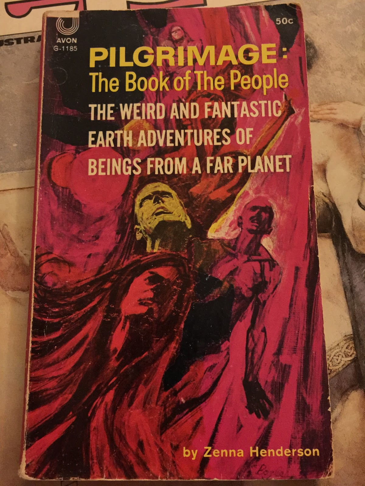 First Edition Fantasy Vintage Science Fiction Book Covers -6734