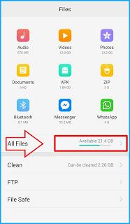 Silakan Click All Files Oppo