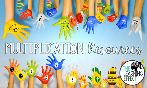 Over 50 resources for teaching multiplication in upper elementary.