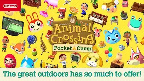 انضم إلى أكبر معسكر على الهاتف المحمول  معبر الحيوان Animal Crossing: Pocket Camp