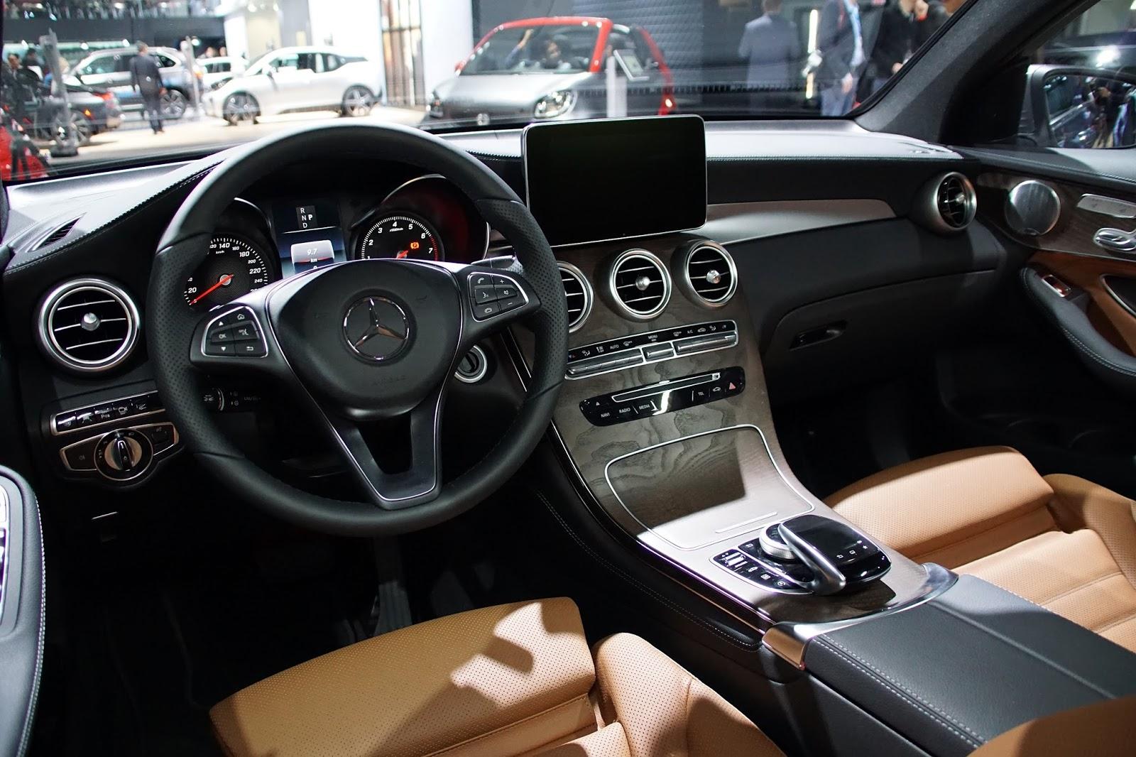 nyheter new york auto show mercedes glc coupe og amg bil og motorbloggen. Black Bedroom Furniture Sets. Home Design Ideas