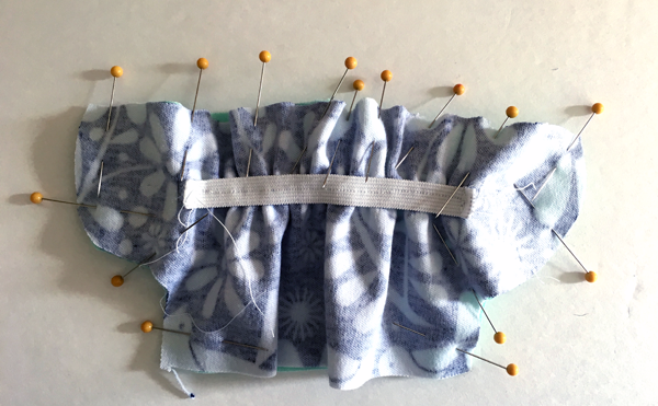 Sewing baby booties