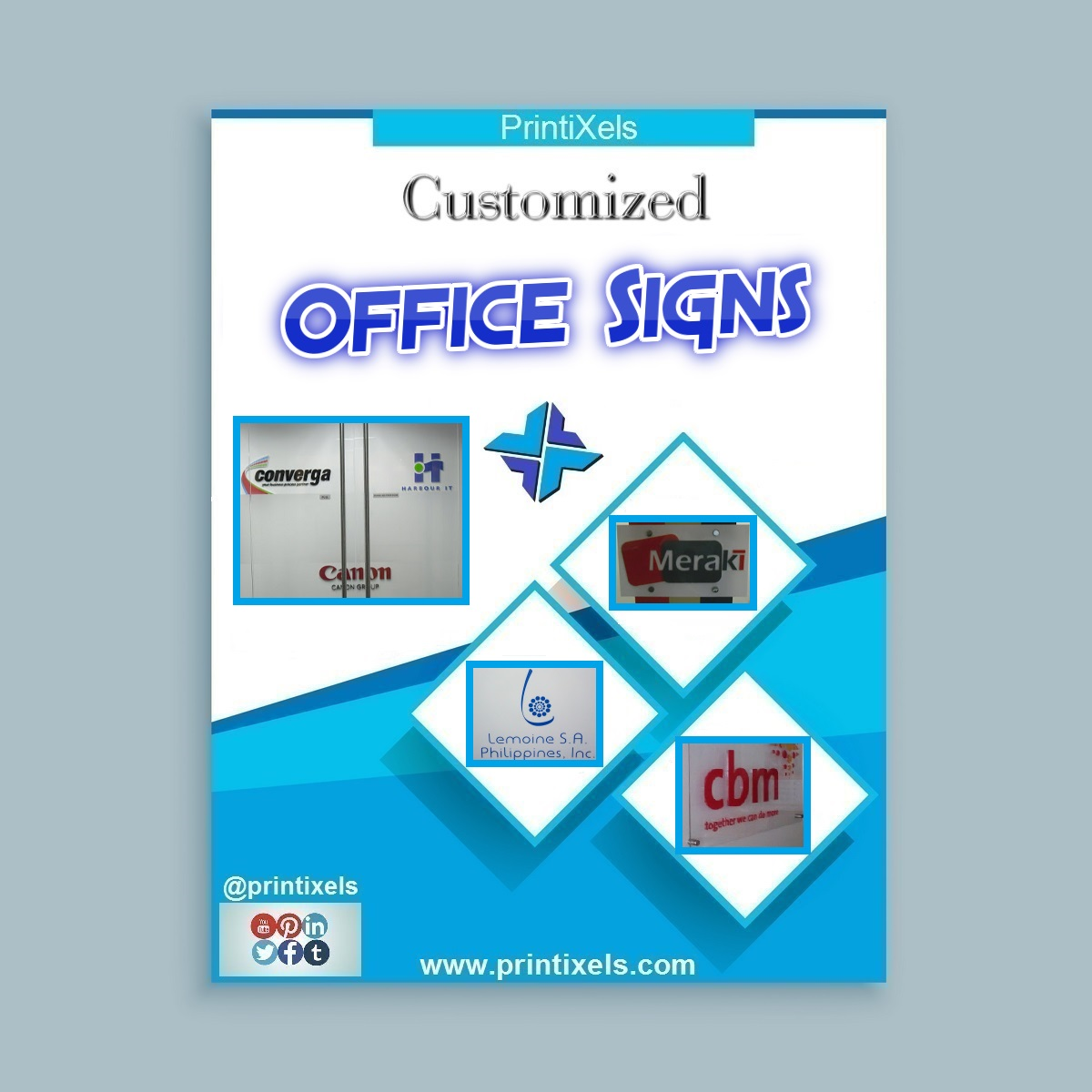 Customized Office Signs Philippines