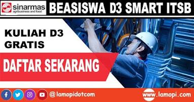Beasiswa D3 Smart ITSB