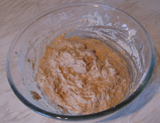 bread dough mixture for white loaf
