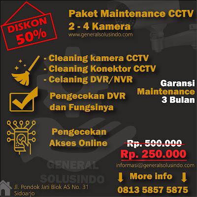 Jasa Maintenace CCTV Sidoarjo