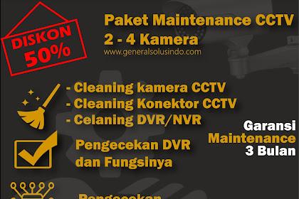 Jasa Maintenance CCTV Sidoarjo Disc 50% Dapatkan Sekarang !
