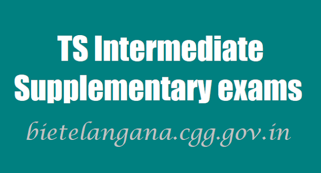TS Inter Supplementary exams hall tickets,results,bietelangana.cgg.gov.in