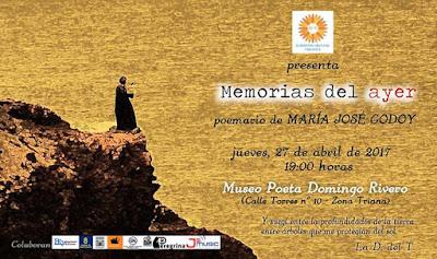 Memorias del Ayer, poemas de María José Godoy Bellas