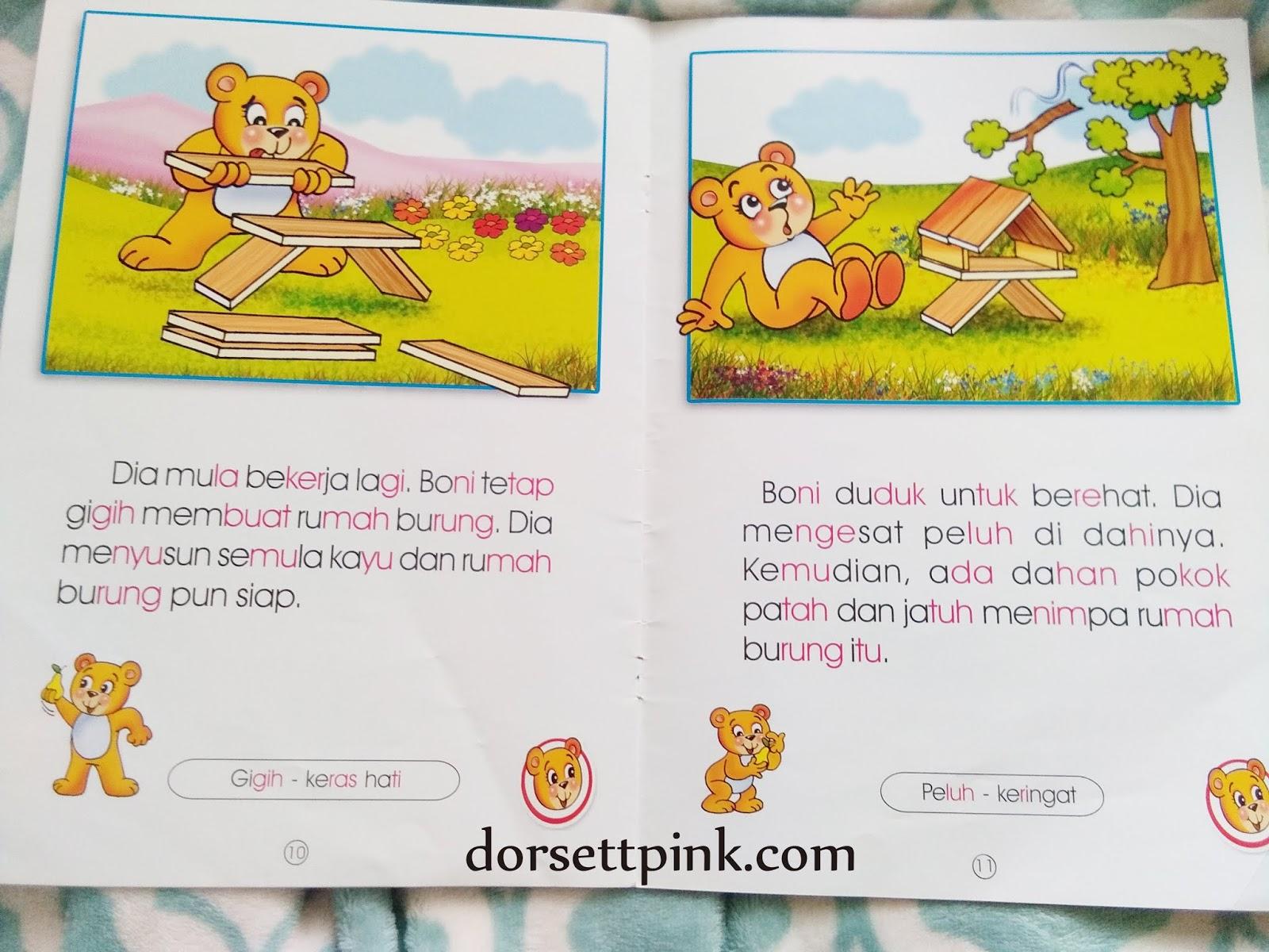 Latihan Membaca Cerita Pendek Bahasa Melayu Untuk Kakak Fl Dorsett Pink