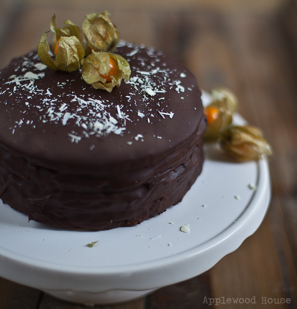 Christmas Cake Applewood House Chocolate