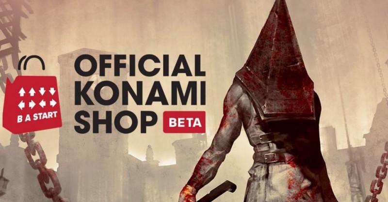 Konami Official Store Teaser New Silent Hill Merch