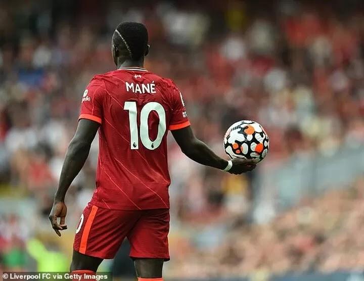 Liverpool strike Mane target 30-goal this season