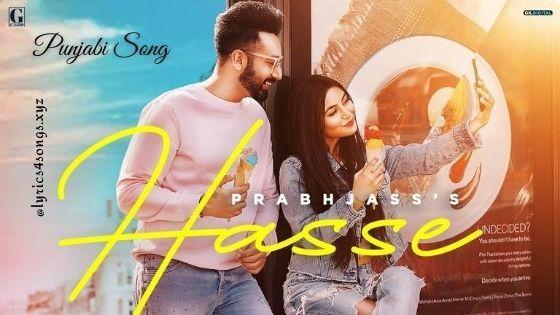 HASSE LYRICS - Prabh Jass | Punjabi Song  | Lyrics4songs.xyz