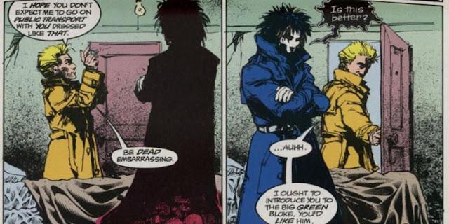 Constantine in Comics