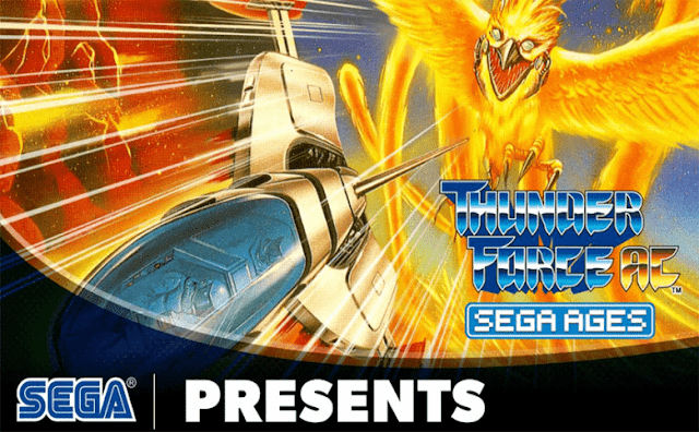 Set the Galaxy Ablaze in SEGA AGES Thunder Force AC, Now Out for Nintendo Switch!