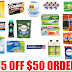 300 MORE ITEMS ADDED!! $15 Off $50 Order on Amazon of Household Supplies + Free Shipping: Tide, Snuggle, All, Persil, Ziploc, Glad, Hefty, Reynolds, Mrs. Meyer's, Swiffer, Scotch-Brite, Glade, Airwick, Febreeze, Downy, Shout, Finish, Cascade and so many more.