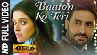 BAATON KO TERI Song Lyrics | Arijit Singh | Himesh Reshammiya