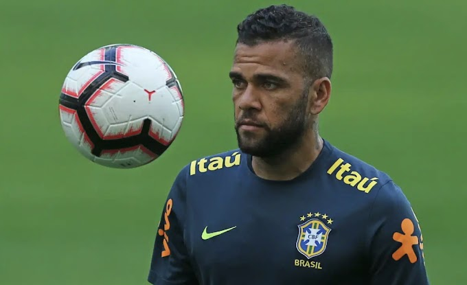Why I Regretted Not Joining Man City -Dani Alves