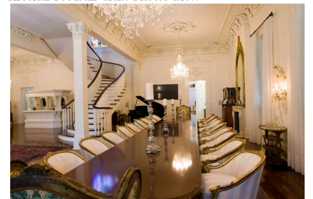 news at your convenience inside aliko dangote 39 s luxury home