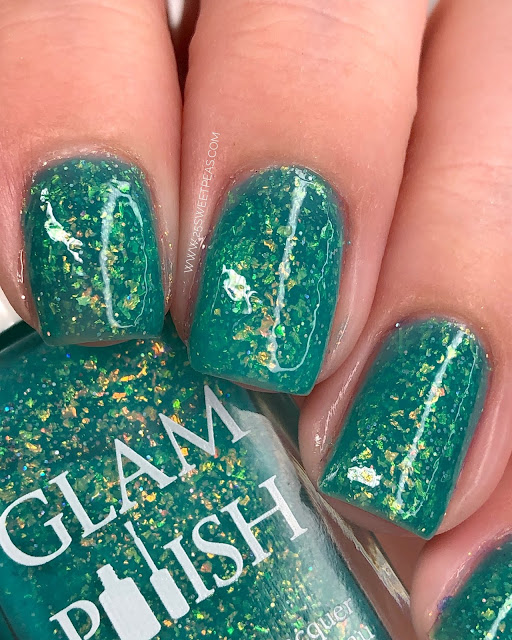 Glam Polish Splish Splash 25 Sweetpeas
