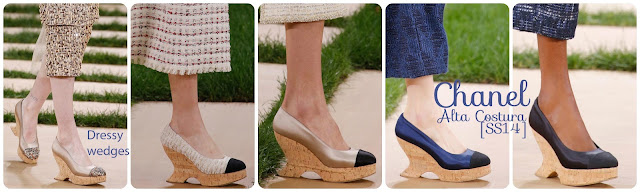 [SS16] Chanel Haute Couture: wedges.  L-vi.com