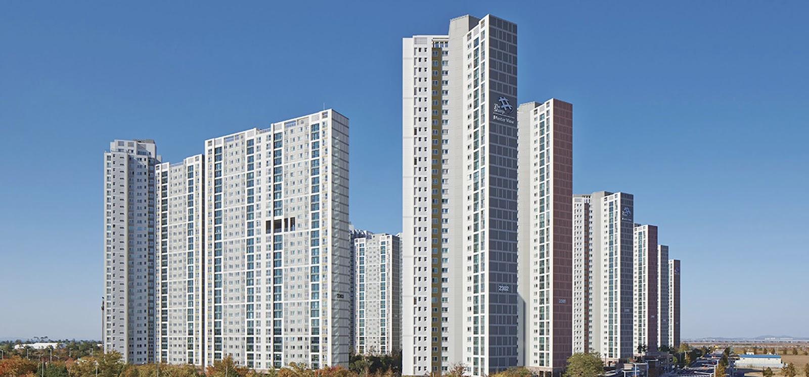 Songdo Apartment Housing The Master View Seoul Incheon Korea