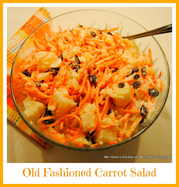 Old Fashioned Carrot Salad at Miz Helen's Country Cottage
