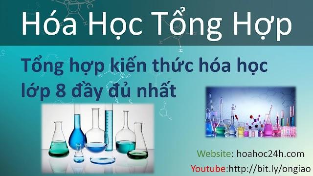 Chương trình hóa học lớp 8