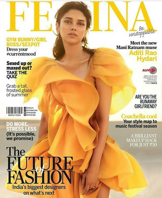 Aditi Rao Hydari On Femina Magazine Cover