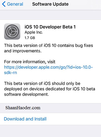 HOW TO : Install iOS 10 Beta OTA Update Without Developer Account