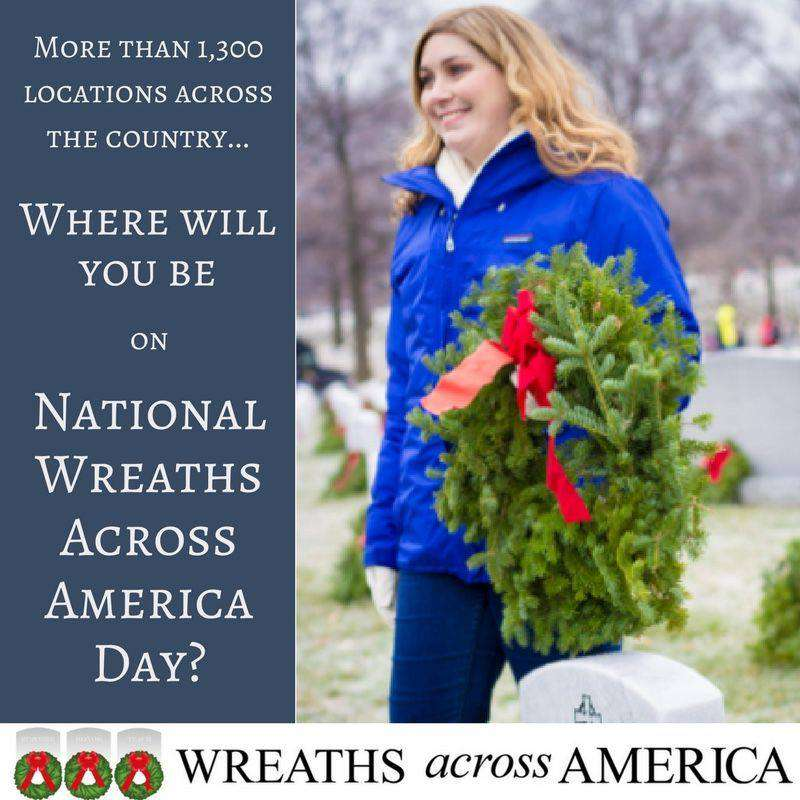 National Wreaths Across America Day Wishes Photos