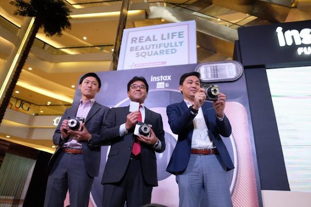 Kamera Analog Kotak Fujifilm Instax SQ6